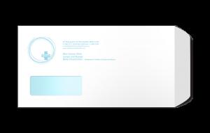 Optimum Med Health DL Window Envelope - PNG