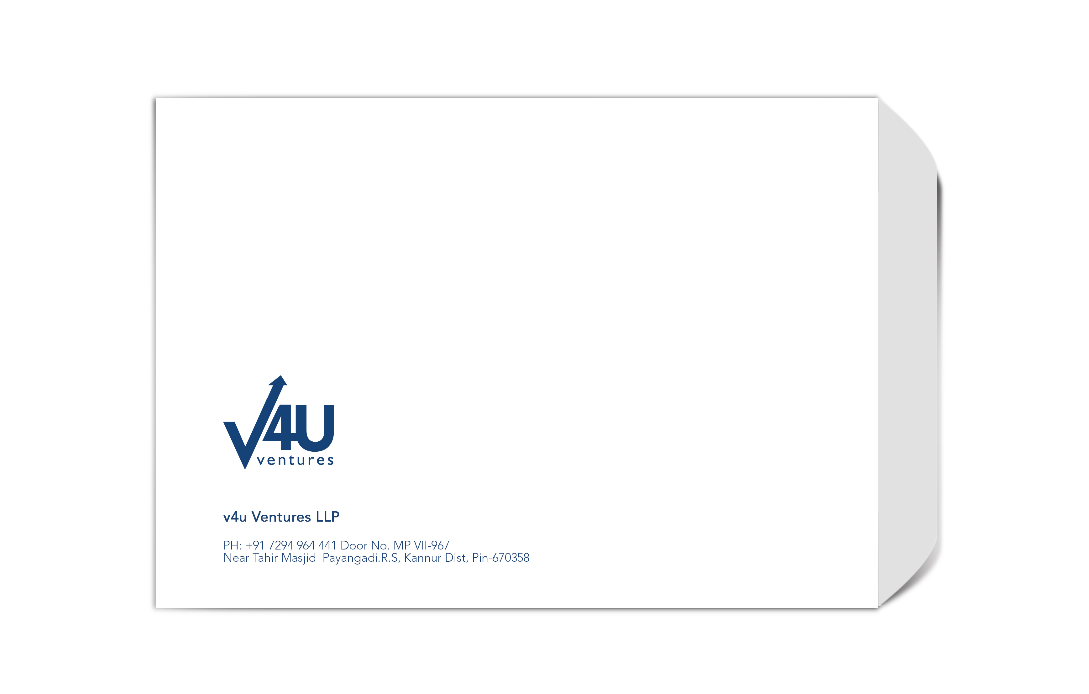 V4U -B4 Plain Envelope JPEG