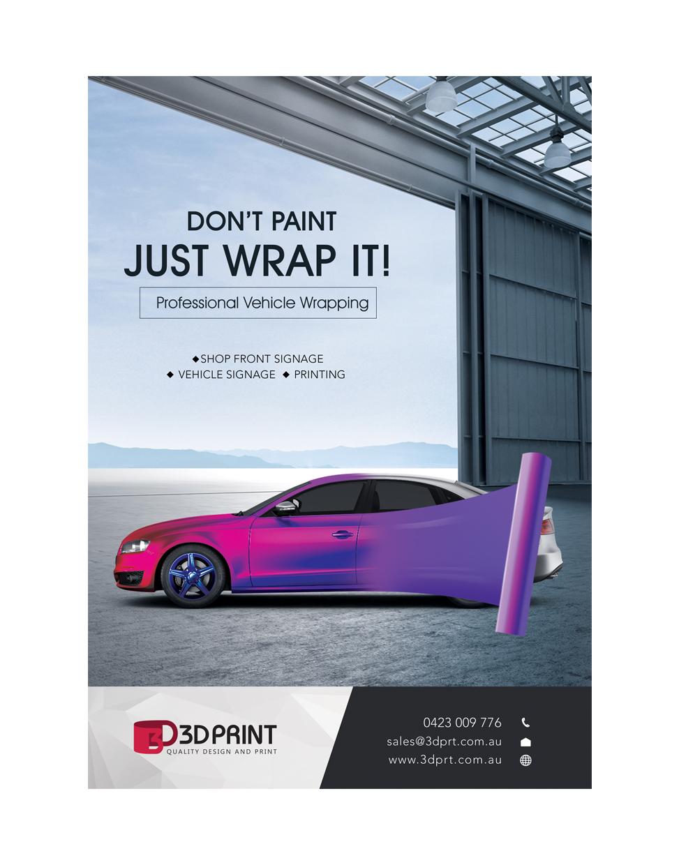3D Print - A4 Flyer- JPEG