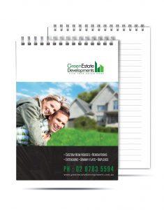 Green Estate Note pad JPEG