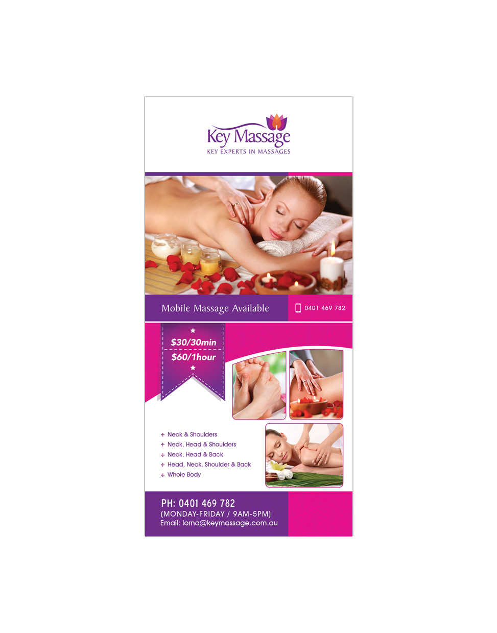 Key Massage- Flyer JPEG
